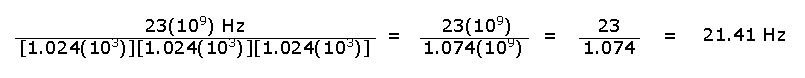 Sample Conversion Equation